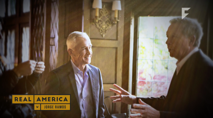 John Kasich speaks to Jorge Ramos