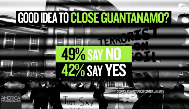 There's a different side to Guantnamo